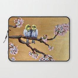 Cherry Blossom Chicks Laptop Sleeve