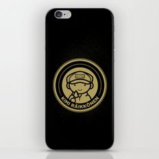 Chibi Kimi Raikkonen - Lotus F1 Team iPhone & iPod Skin