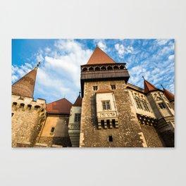 Castle & Cloudscape Canvas Print