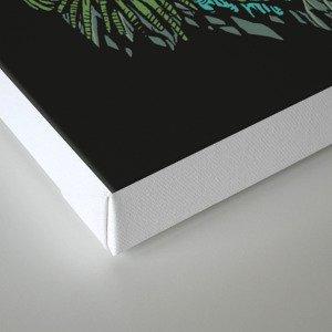 Zombie vs Plant! Canvas Print