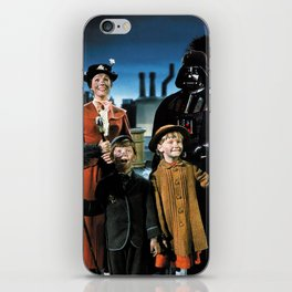 Darth Vader in Mary Poppins iPhone Skin