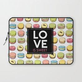 Love is sweet. Laptop Sleeve