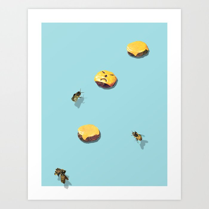 Discover the motif BAD DAY by Beth Hoeckel as a print at TOPPOSTER