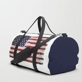 American flag Vintage Grunge Duffle Bag