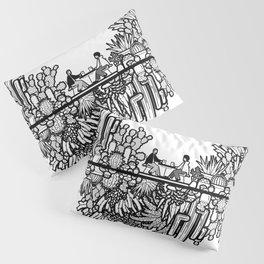 Chai and Cacti Pillow Sham