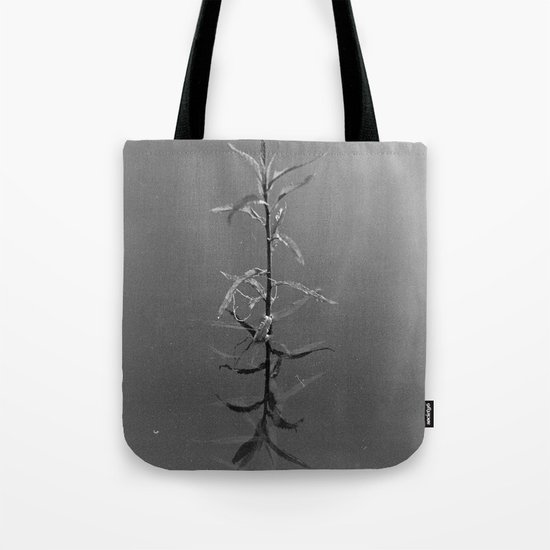 Alone in silence Tote Bag