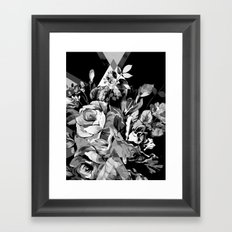 FLORIAN (BLACK & WHITE) Framed Art Print