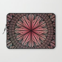 Fantasy flower and petals Laptop Sleeve