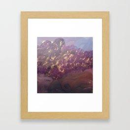 Kasumi Framed Art Print
