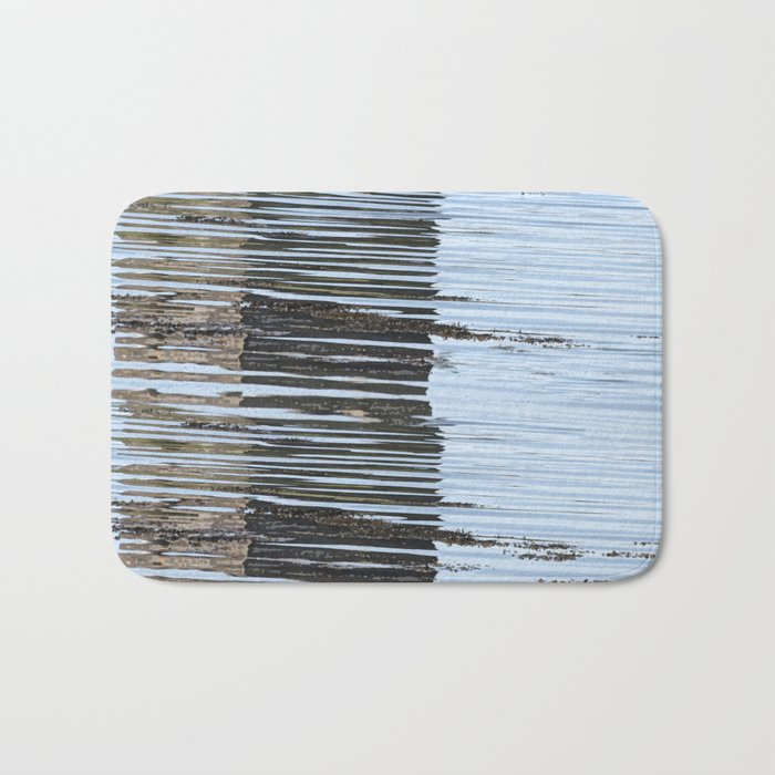 Reflections of a river, meanderings of a mind Bath Mat