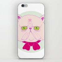 persian iPhone & iPod Skins featuring Persian Cat by Madelen Foss