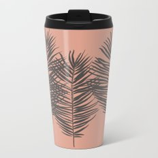 Palms Pattern #society6 #decor #buyart Metal Travel Mug