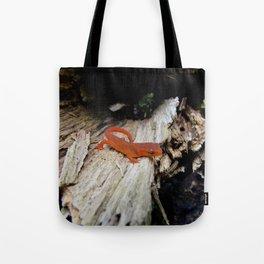 Red Newt Tote Bag