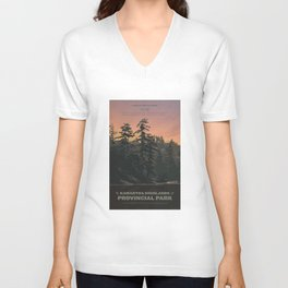 Kawartha Highlands Provincial Park Unisex V-Neck
