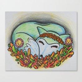 Mystical Fox Canvas Print