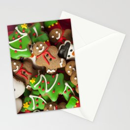Christmas Cookies Stationery Cards
