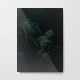 The Shape of Water Screenplay Print Metal Print