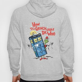 How the Grinch Stole Dr Who (on Light) Hoody