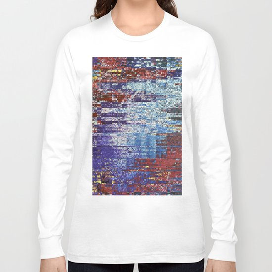 Abstract 127 Long Sleeve T-shirt