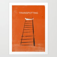 trainspotting Art Prints featuring Trainspotting by TwO Owls
