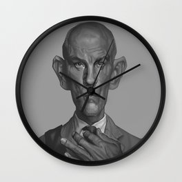 John Malkovich Caricature Wall Clock