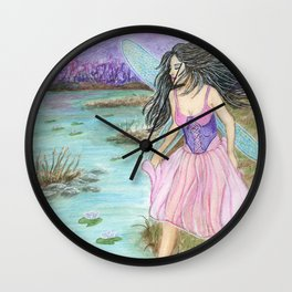 Outside Fairyland Wall Clock
