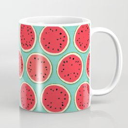 watermelon polka mint Coffee Mug