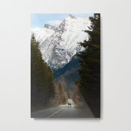 Crossing Paths Metal Print