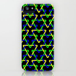 Brazilian Triangles iPhone Case