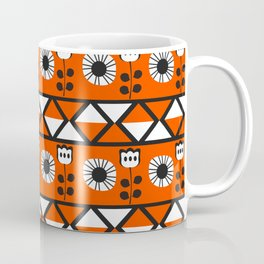 Shapes and flowers Coffee Mug