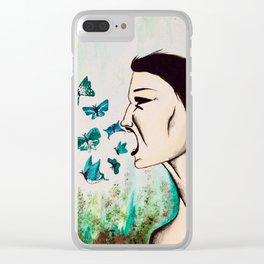 The Scream Clear iPhone Case