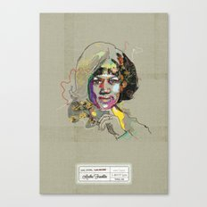 Aretha Franklin - Soul Sister   Soul Brother Canvas Print