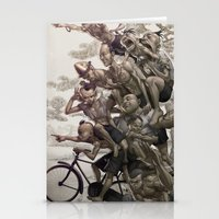 la Stationery Cards featuring Ten Brothers by Artgerm™