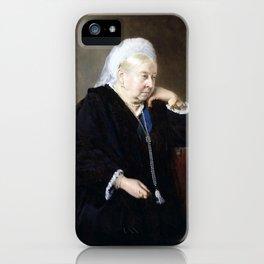 Heinrich von Angeli Queen Victoria iPhone Case
