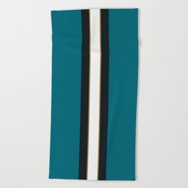 Jacksonville Football Beach Towel