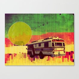 going west (ANALOG ZINE) Canvas Print