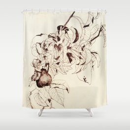 Pear tree Shower Curtain