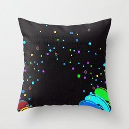 La Vida Es Un Carnaval Throw Pillow