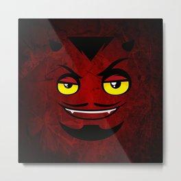 chibie Devil Metal Print
