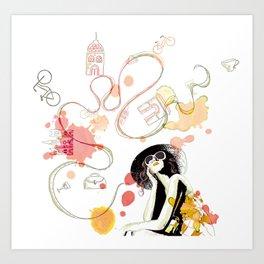 Summer dream Art Print
