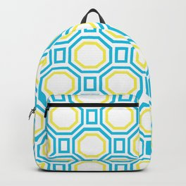 Blue Harmony in Symmetry Backpack