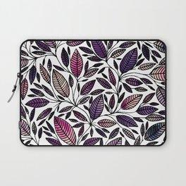 Floral Illustration - Leaf - No*45 Laptop Sleeve