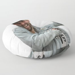 baker mayfield x Oklahoma Floor Pillow