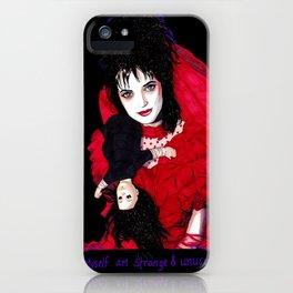 Lydia Deetz - Strange & Unusual iPhone Case
