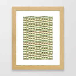 Pineapple Party Framed Art Print