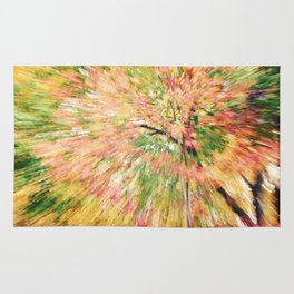FALL CANOPY ABSTRACT Rug