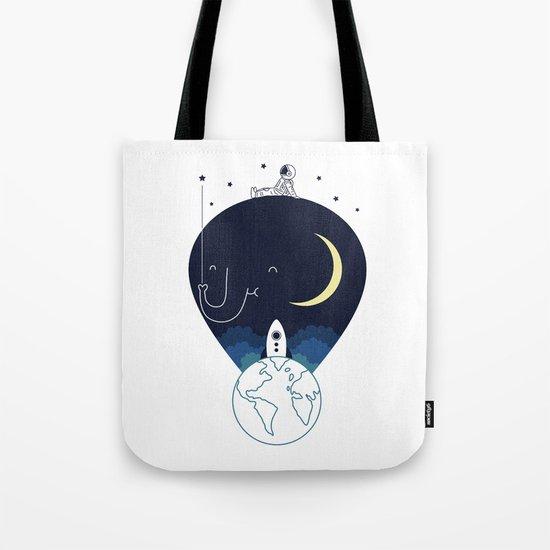 Imagine and Explore Tote Bag