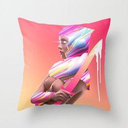 Acid Ranger Throw Pillow