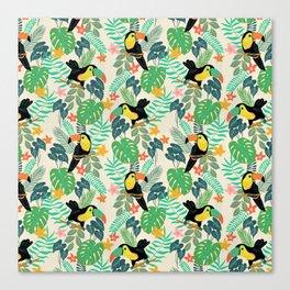 Toucan Island Canvas Print