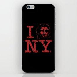 I (Snake) NY iPhone Skin